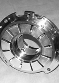 Double Thrust Face Tilting Pad Babbitt Bearing for Gas Turbine